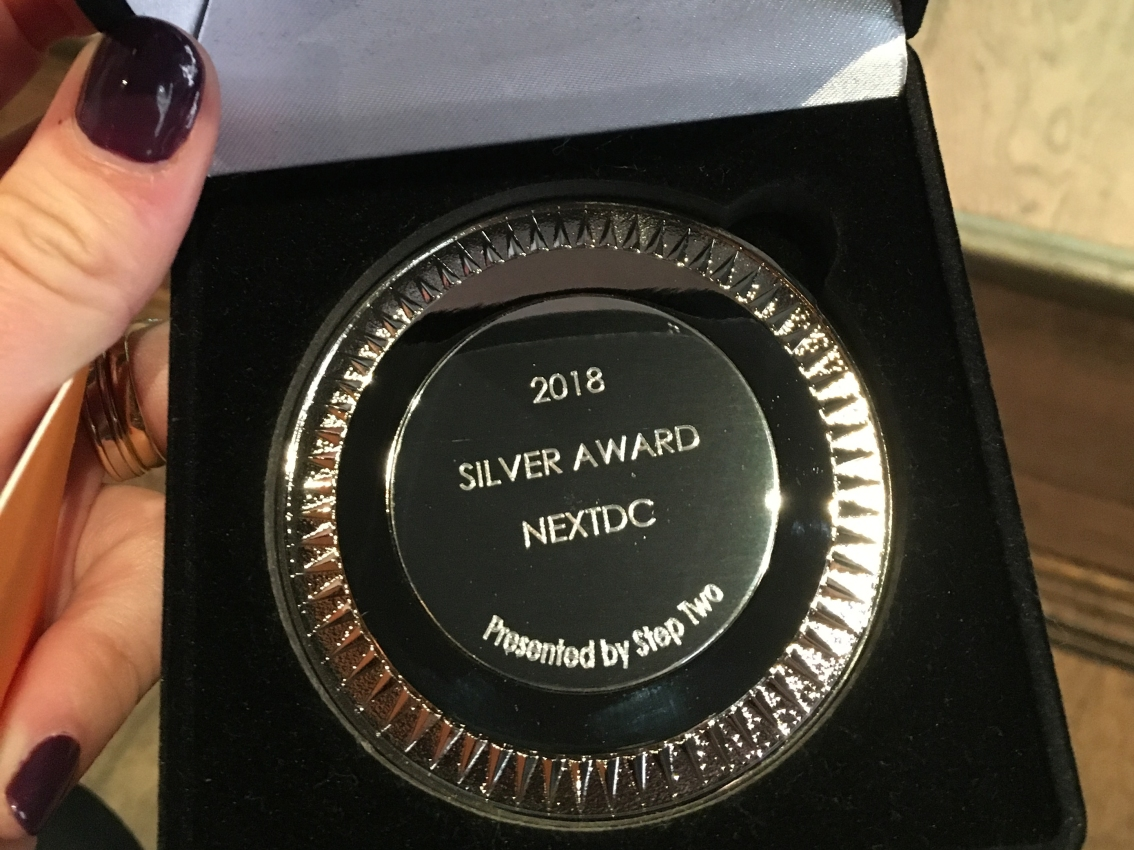 Intranet and Digital Workplace Awards – Silver medal forNEXTDC
