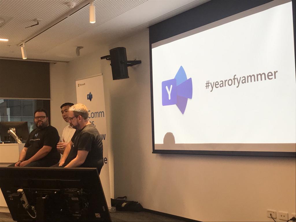 #YearOfYammer hits Australia